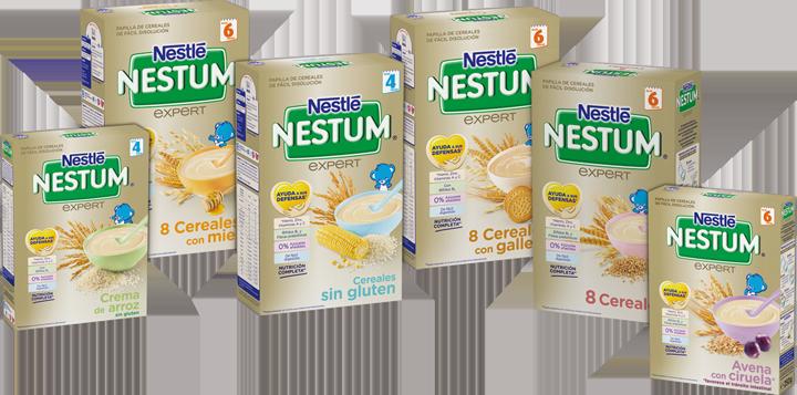 The insiders la gama de las papillas nestum de nestl es es - Cereales bebe 5 meses ...