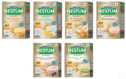 The insiders la gama de las papillas nestum de nestl es es - Cereales sin gluten bebe 3 meses ...