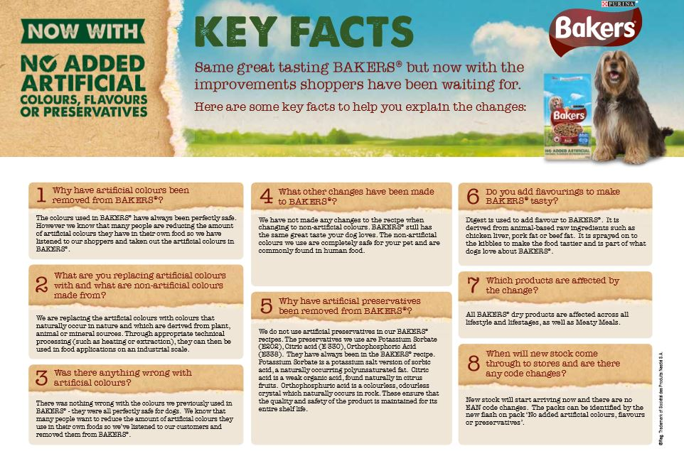 Facts About Bakers Dog Food